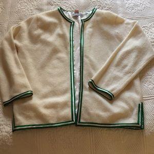 VTG cardigan sweater Frances Brewster